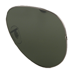 sunglasses with dark green lenses