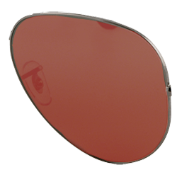 sunglasses with red lenses