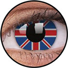 ColourVUE Crazy Lens / Union jack