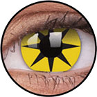 ColourVUE Crazy Lens / Yellow star