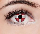 ColourVUE Flag (2 čočky) - nedioptrické / Švýcarsko