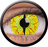 ColourVue Sclera Full Eye Lens 22 mm (2 čočky) - nedioptrické / Dragon fly
