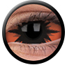 ColourVue Sclera Full Eye Lens 22 mm (2 čočky) - nedioptrické / Omega red