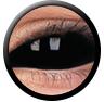 ColourVue Sclera Full Eye Lens 22 mm (2 čočky) - nedioptrické / Sabretooth