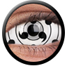 ColourVue Sclera Full Eye Lens 22 mm (2 čočky) - nedioptrické / Tailed beast