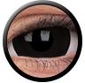 ColourVue Sclera Crazy Lens 17 mm ( 2 čočky) - nedioptrické / Black titan