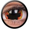ColourVue Sclera Crazy Lens 17 mm ( 2 čočky) - nedioptrické / Blackhole sun