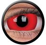 ColourVue Sclera Crazy Lens 17 mm ( 2 čočky) - nedioptrické / Daredevil