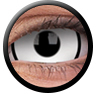 ColourVue Sclera Crazy Lens 17 mm ( 2 čočky) - nedioptrické / Deadpool