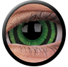 ColourVue Sclera Crazy Lens 17 mm ( 2 čočky) - nedioptrické / Green goblin
