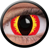 ColourVue Sclera Crazy Lens 17 mm ( 2 čočky) - nedioptrické / Smaug's eye