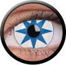 Magic Eye Crazy (2 čočky) - nedioptrické / Blue star