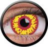 Magic Eye Crazy (2 čočky) - nedioptrické / Red wolf