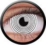 Magic Eye Crazy (2 čočky) - nedioptrické / White hypnotic