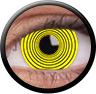 Magic Eye Crazy (2 čočky) - nedioptrické / Yellow hypnotic