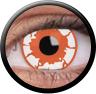 Magic Eye Crazy (2 čočky) - nedioptrické / Zombie red