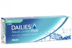 DAILIES AquaComfort Plus Toric (30 čoček)