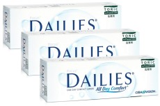 Focus Dailies All Day Comfort Toric (90 čoček)