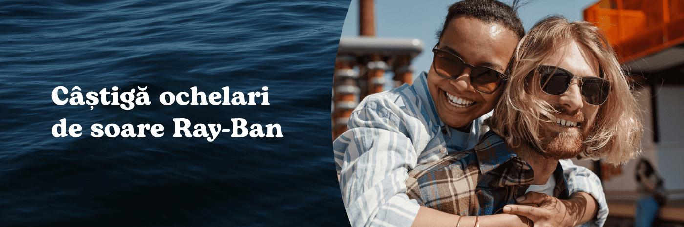 Win Ray-Ban sunglasses
