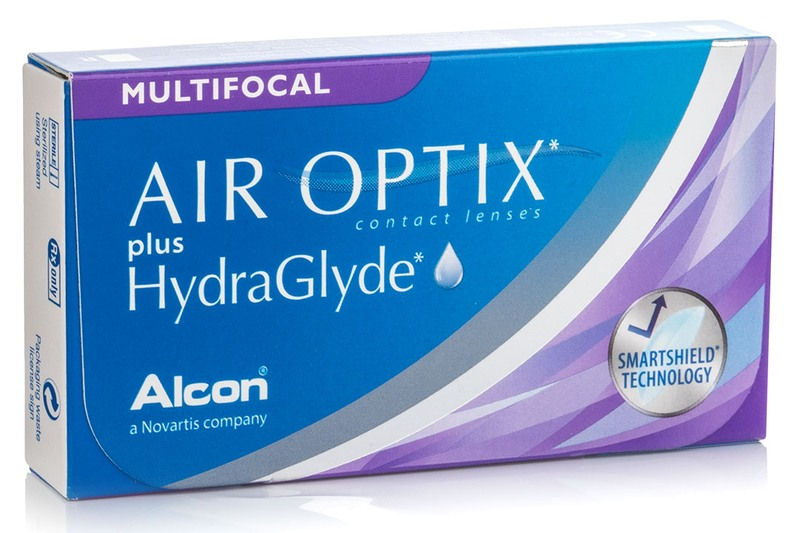 Air Optix<sup>®</sup> Plus Hydraglyde<sup>®</sup> Multifocal