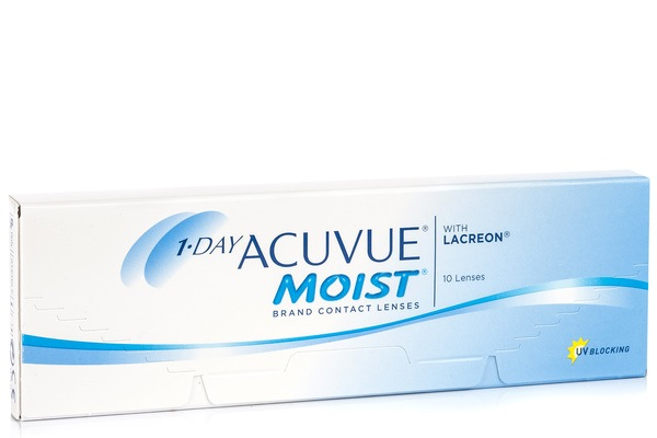 1 Day Acuvue Moist (10 lentile)