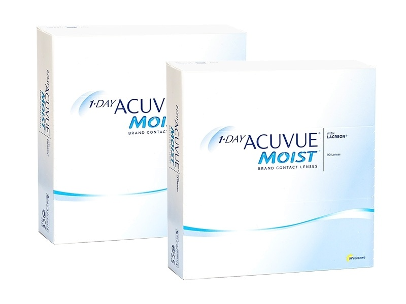 1-DAY Acuvue Moist (180 lentile) de la Johnson  Johnson