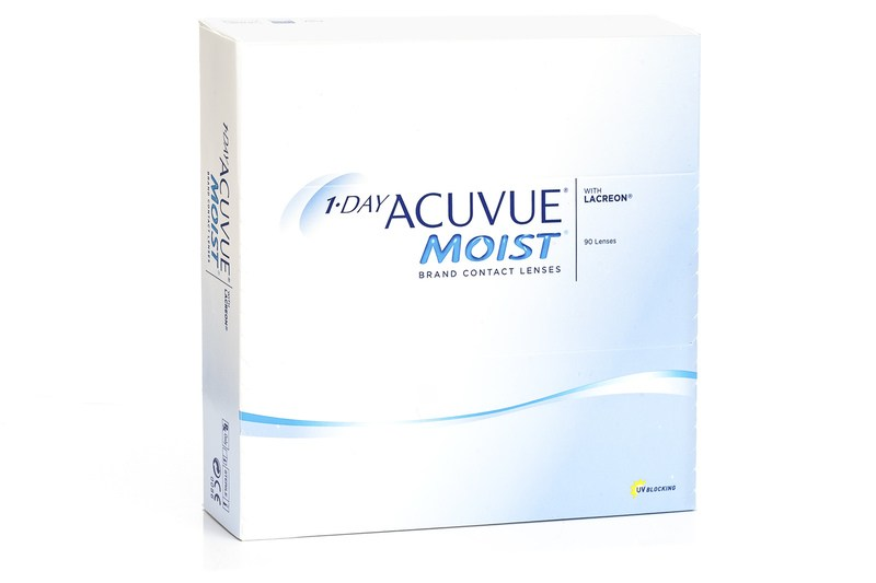 1-DAY Acuvue Moist (90 lentile) de la Johnson  Johnson