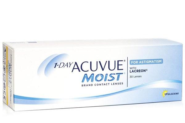 1 Day Acuvue Moist pentru Astigmatism (30 lentile)