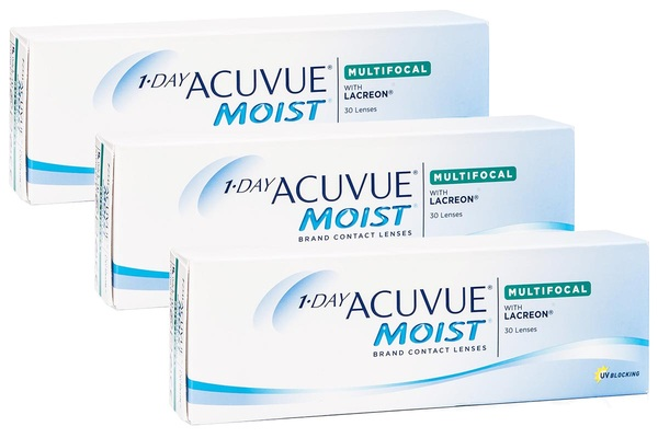 1 Day Acuvue Moist Multifocal (90 lentile)