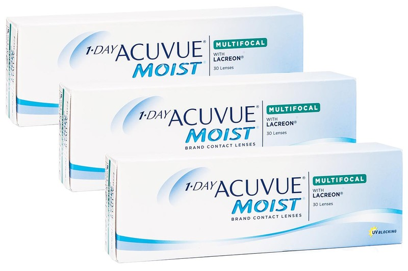 1-DAY Acuvue Moist Multifocal (90 linser)