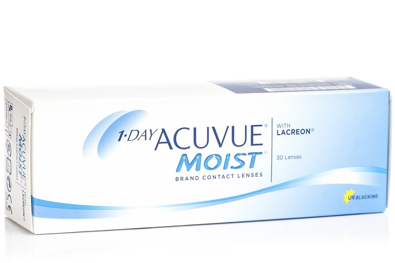 1-Day ACUVUE MOIST (1x30), BC 9,0