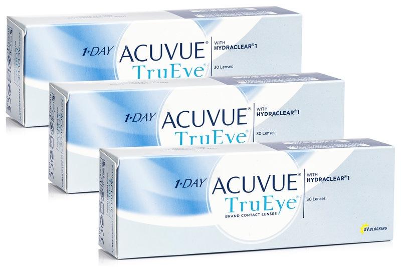 1-DAY Acuvue TruEye (90 lentile)