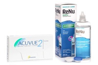Acuvue 2 (6 čoček) + ReNu MultiPlus 360 ml s pouzdrem