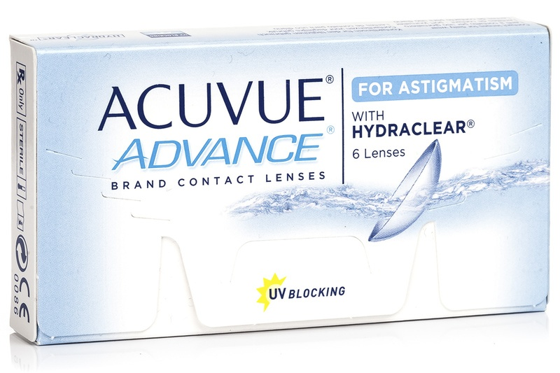 Image of   Acuvue Advance for Astigmatism (6 linser)