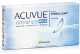 Acuvue Advance Plus (6 šošoviek)