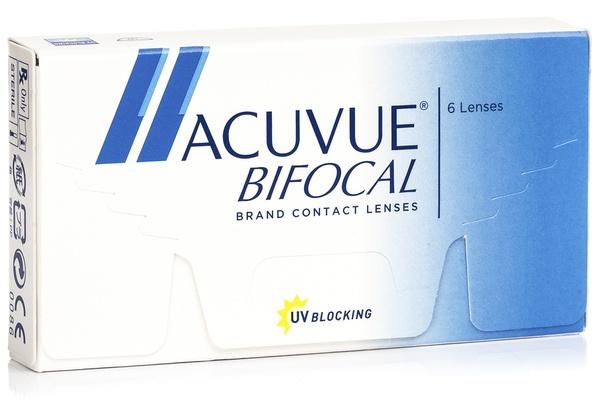 Acuvue Bifocal (6 lentile)