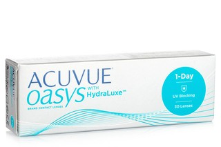 Acuvue Oasys 1-Day with HydraLuxe (30 lentilles)