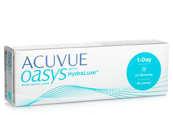 Acuvue Oasys 1 Day with HydraLuxe (30 lentile)