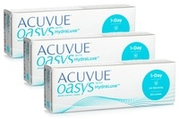 Acuvue Oasys 1 Day with HydraLuxe (90 čoček)