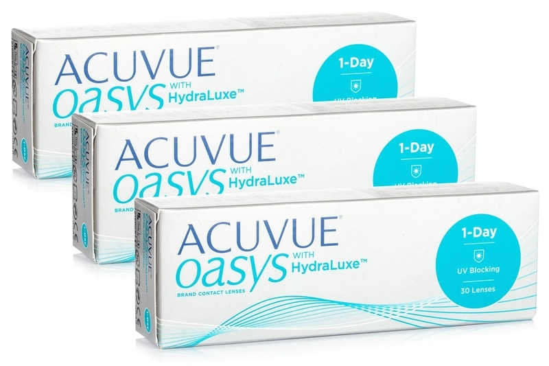 6612f7e8167 Acuvue Oasys 1-Day with HydraLuxe (90 lenses)