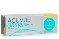 Acuvue Oasys 1 Day with HydraLuxe for Astigmatism (30 čoček)