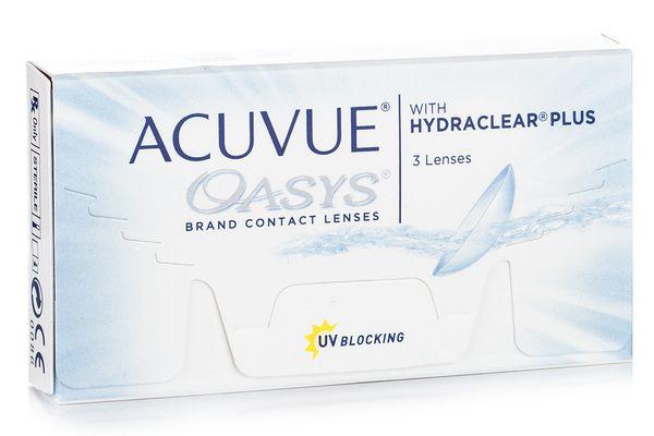 Acuvue Oasys (3 lentile)