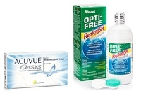 Acuvue Oasys (6 čoček) + OPTI-FREE RepleniSH 300 ml s pouzdrem