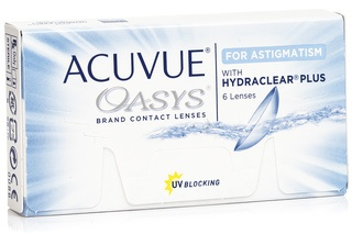 Acuvue Oasys pentru  Astigmatism 6 lentile