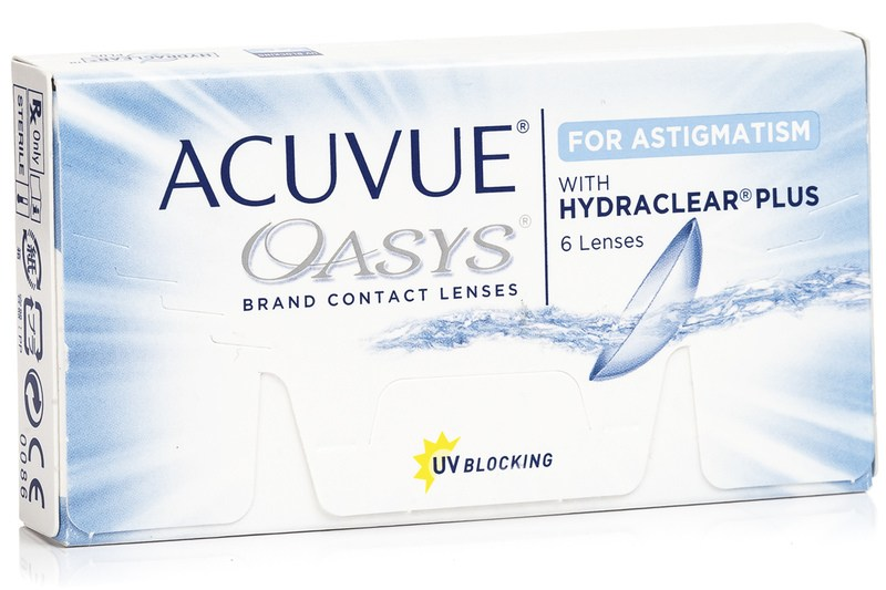 Image of   Acuvue Oasys for Astigmatism (6 linser)