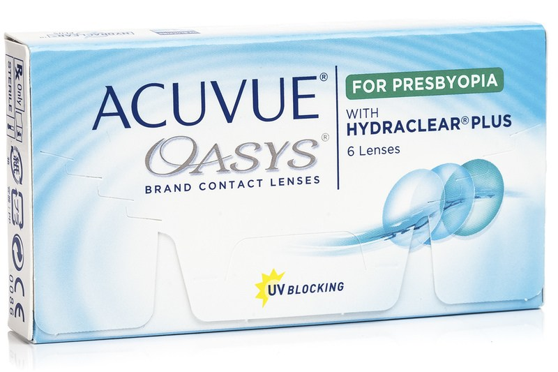 Image of   Acuvue Oasys for Presbyopia (6 linser)