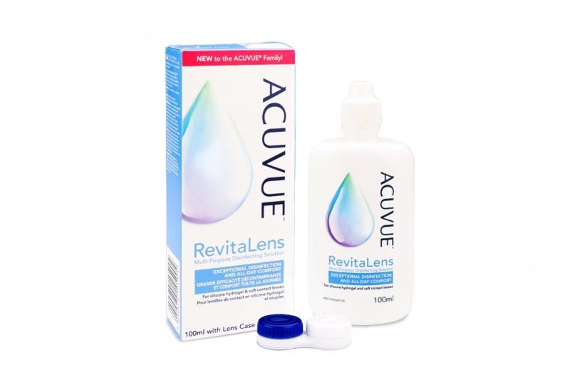 Acuvue RevitaLens 100 ml s pouzdrem Ostatní roztoky