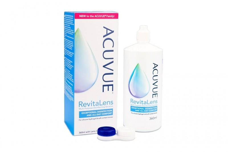 Acuvue RevitaLens 360 ml s pouzdrem Ostatní roztoky