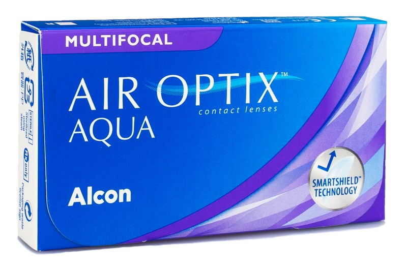 Air Optix Kontaktlinsen Air Optix Aqua Multifocal, 6er Pack