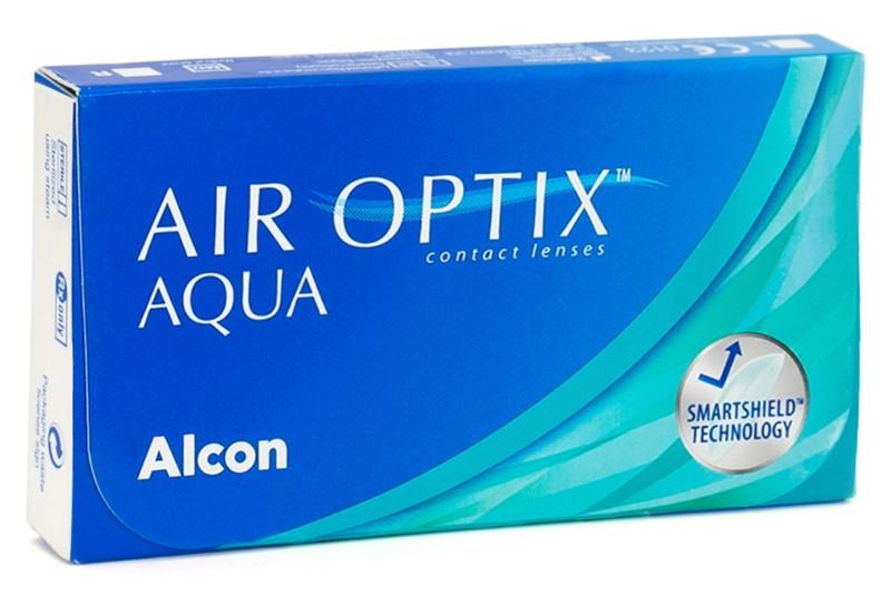 Air Optix Aqua (6 čoček) Air Optix Měsíční čočky silikon-hydrogelové sférické